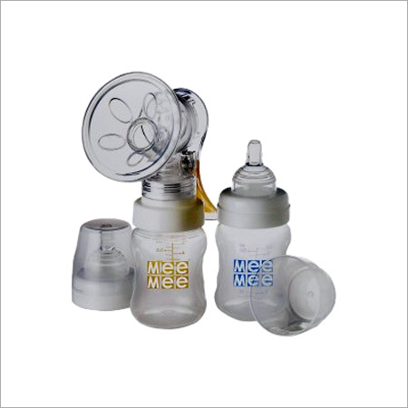 Breast Pump With Feeding Bottle Set (Manual)(Mm 80207)