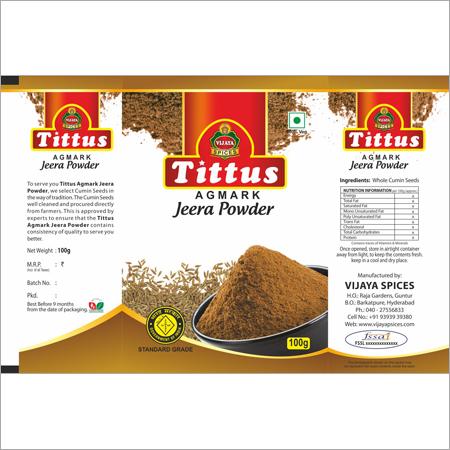 Organic Jeera Powder