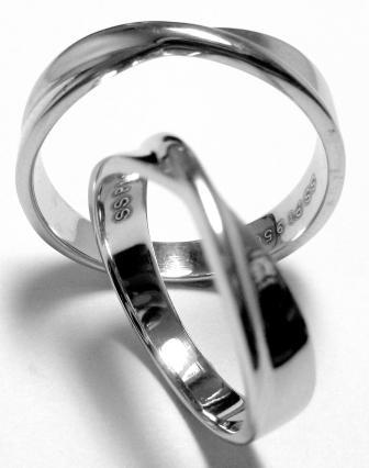 Platinum Couple Ring