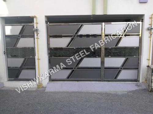 Fancy Stainless Steel Gate