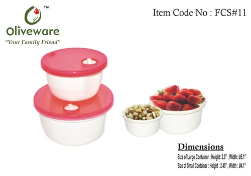 Food Containers (Set of 2)
