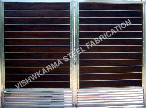 Main Gates Stainless Steel Gate