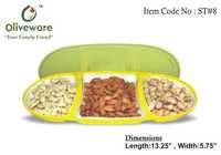 Multipurpose Storage and Serving Tray