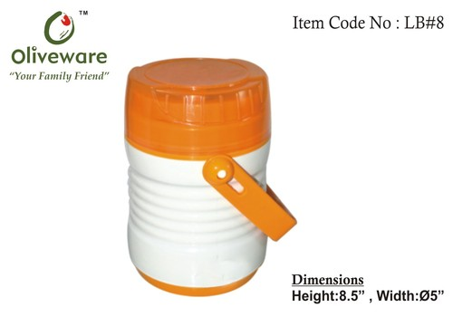 Lunch box with three containers