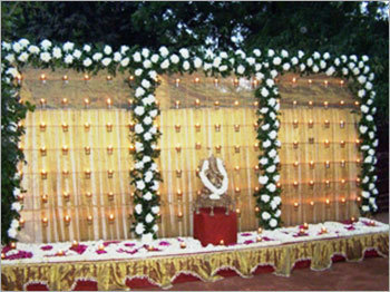 Marquee Decoration Gates