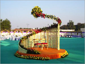 Wedding Reception Stage
