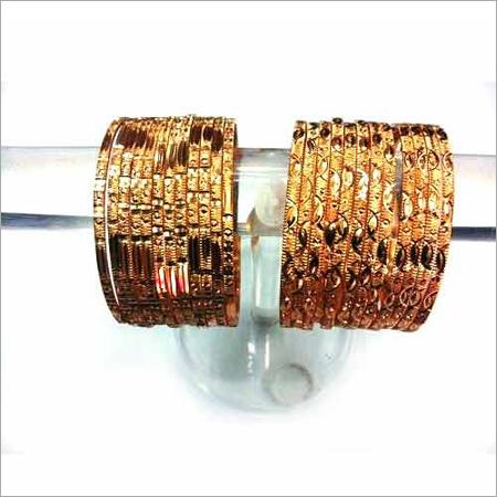 Golden Brass Guaranteed Bangles
