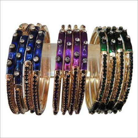 Party Wear Stone Bangles