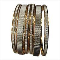 Stylish Two Tone Bangles