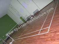 Badminton Court Indian Teak Wooden Flooring