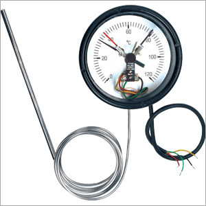 Mercury Gas Metal Thermometers