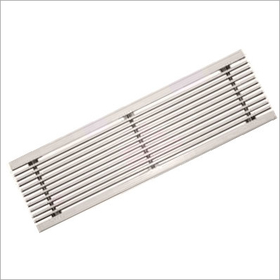 Fixed Bar Linear Grille