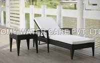 Rattan Poolside Chair Set