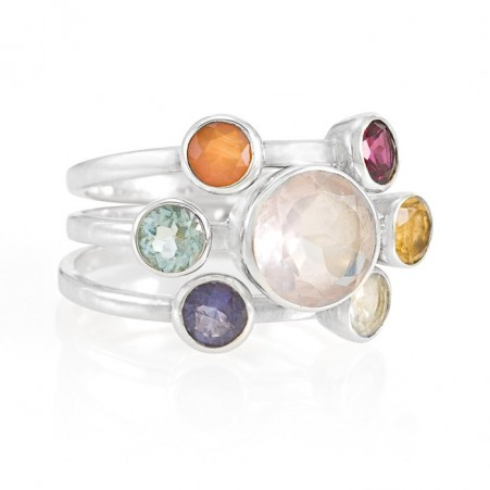 CHAKRA 925 STERLING SILVER RING