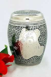 TEDDY BEAR ENGRAVED URN
