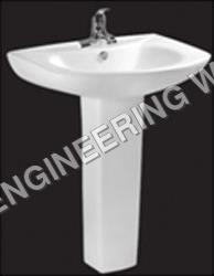 Semi Pedestal Washbasins