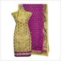 Chanderi Jacquard Suit Dupatta