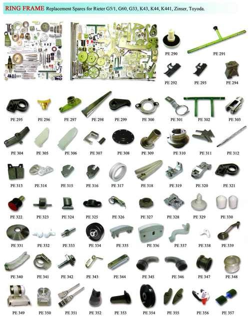 Ring Frame Spare Parts