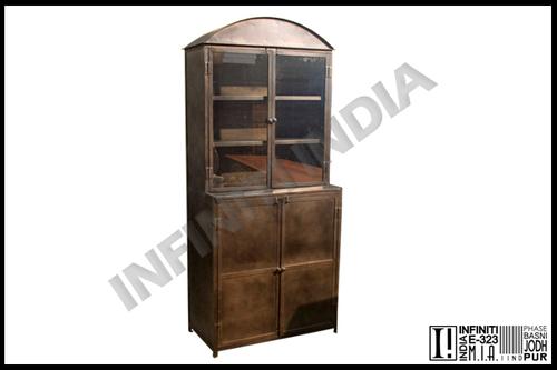 Black Vintage Industrial Almirah