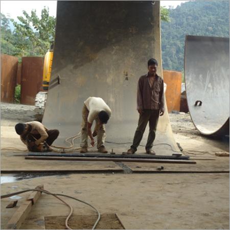 Fabrication Of Penstock