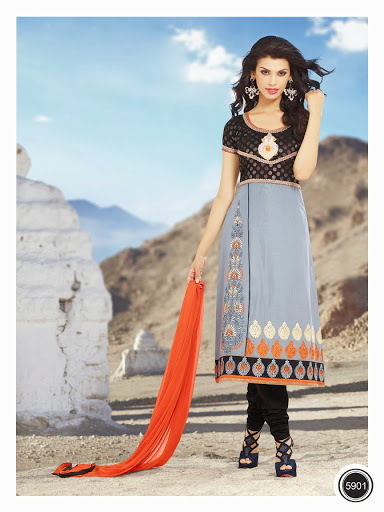 Nection In Chanderi Cotton Salwar Suit