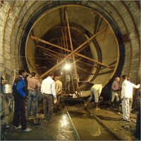 Erection Of Tunnel Penstock