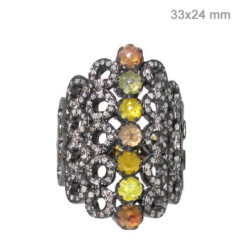 Gold Diamond Ring Jewelry