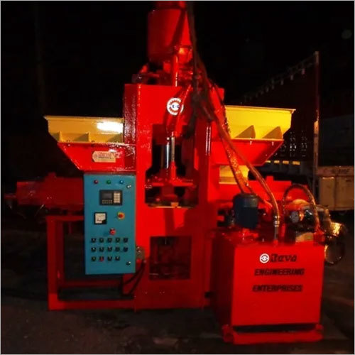 Automatic Interlocking Paver Block Machine