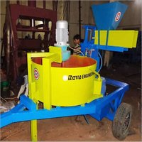 INTERLOCKING BLOCK MACHINE-PORTABLE
