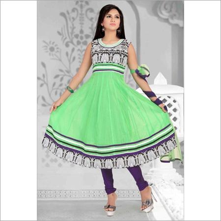 Embroidery Ladies Churidar Suit