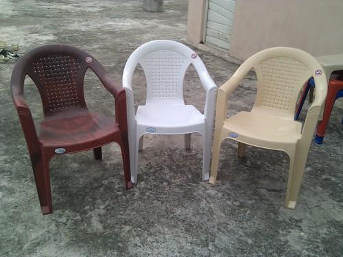 plastic chairs price