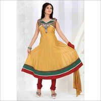 Chanderi Silk Hand Work Suit
