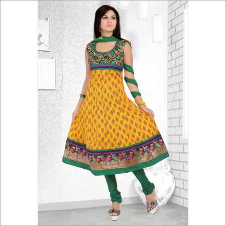 Cotton Embroidery Print Suits