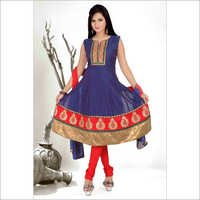Chanderi Embroidery Pita Work Suits
