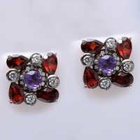 925 Sterling Silver Gemstone Fashion Earring