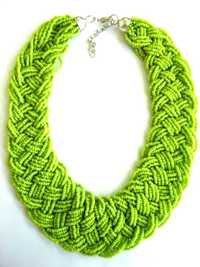 Antique Green Necklace