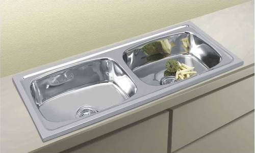 Sink 45*20*9 Global Premium Single Bowl Triple