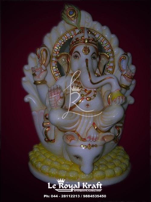 Marble Ganpati Murti