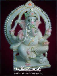 Marble Lord Ganesh