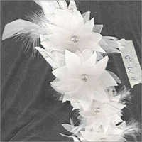 Flower & Feather Head Band