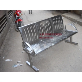 Perforated Steel Bench