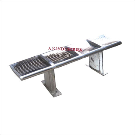 Backless Steel Bench