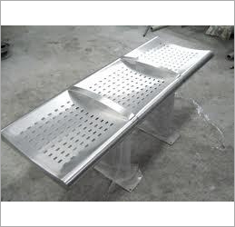 3 Seater Steel Bench