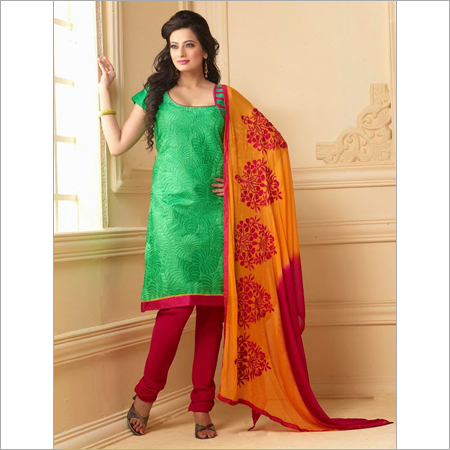 Designer Cotton Dress materials