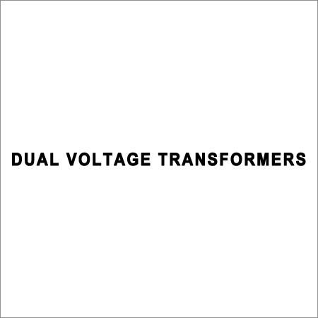 Dual Voltage Transformers