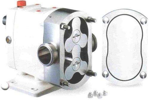 Lobe Pump for Transferring Cream