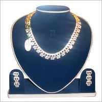 Gold Plated Silver Jewelry Set