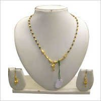 Gold Plated Wedding Necklace