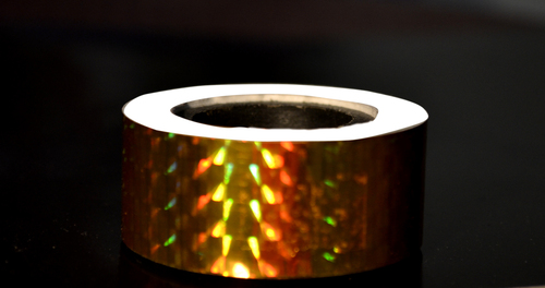 Holographic Self Adhesive Films Tapes