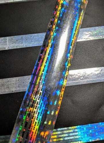Anti Counterfeit Tapes